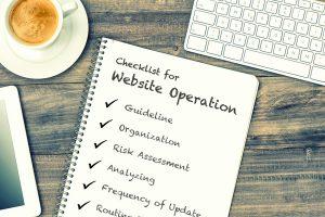 新任Web担当者必見!自社サイトの運用レベルをチェックする7つのポイント